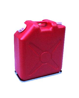 ステンレス304 扁平缶20L用・広口コック付20L用 液もれ防止トレー